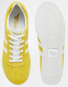 Bild 3 von Gola – Harrier CLA192 – Gelbe Sneaker