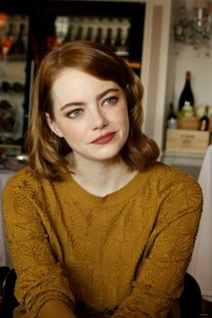Emma stone beaded sweater