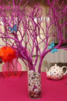 Alice in Wonderland Tree Centerpiece | My 'Bride in Wonderland' Bridal Shower