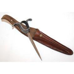 WW1-Robbins & Company, punch dagger with scabbard (IWM-London)