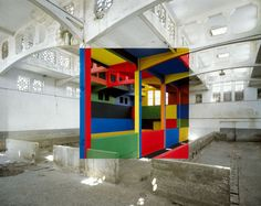 Clever Perspective Art by Georges Rousse