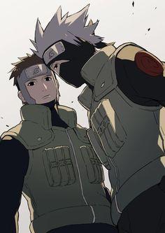 Kakashi x Yamato ❤️ Anime: Naruto Shippuuden Tags: Naruto Kakashi, Anime Naruto, Naruto Boys, Naruto Shippuden Anime, Naruto Art, Anime Manga, Kakashi Sharingan, Neji E Tenten, Shikamaru