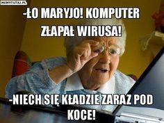 Znalezione obrazy dla zapytania polskie memy o babci