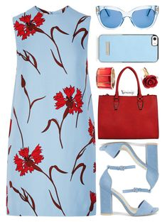 Untitled #2713 by naomimjc ❤ liked on Polyvore featuring Miu Miu, Nly Shoes, Oscar de la Renta and Kate Spade