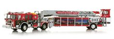 Tunnel to Towers 9/11 Commemorative Model Fire Truck