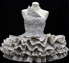 Everyone should have at least one newspaper dress in their wardrobe, right?