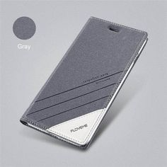 Luxury Flip Card Slot Leather Cases For iPhone X and Other Models - grey / 6 6s Plus