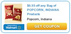 $0.55 off any Bag of POPCORN, INDIANA Products