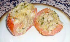 #Cocina conmigo: Tomates rellenos al horno