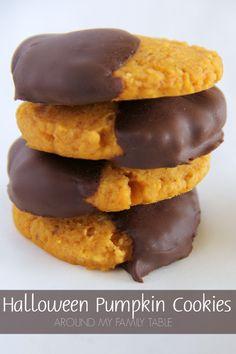 Halloween Pumpkin Cookies Recipe on Yummly. @yummly #recipe