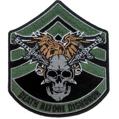 Death Before Dishonor Small Skull Swords Patch Biker Patches, Iron On Patches, Skull Patches, Small Skull, Morale Patch, Back Patch, Leather Vest, Porsche Logo, Sugar Skull