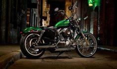 Harley-DavidsonSeventy-Two in Green