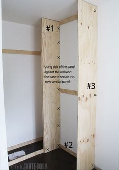 How To Build A DIY Custom Closet Organizer For A Walk In Closet Pink Little Notebook Featured On Source by gentrco to build a closet Diy Master Closet, Diy Walk In Closet, Diy Custom Closet, Walking Closet, Bedroom Closet Design, Build A Closet, Closet Designs, Building Shelves In Closet, Diy Closet Ideas