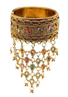Amazing Arabian Nights bangle. #arabiannights #exoticwedding #weddingjewels