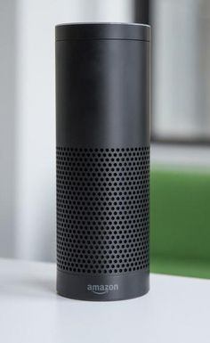 The Amazon Echo -- It's one part Bluetooth speaker and one part personal voice assistant.