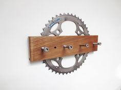 Key Rack Bicycle Accessories Recycled by Winterwomandesigns, $27.00