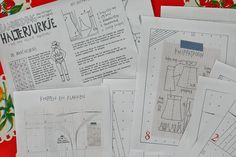 Mme Zsazsa - ' allemaal rokjes' sewingpatterns for skirts - cooking