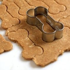 Dont forget about your puppy this year. Bake them some peanut butter biscuits