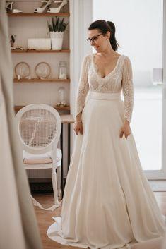 0949669c16bb63 Comment se passent les essayages d'une robe de mariée? l'atelier kamélion  couture de Laetitia Drouet ...