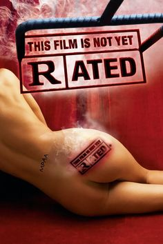 THIS FILM IS NOT YET RATED (Dir. Kirby Dick, 2006) American poster