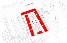 Жилой комплекс в Одинцово. Ситуационный план © АБ Остоженка