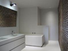 Naadloze stoere badkamer