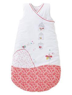 Mitwachs-Schlafsack aus Baumwolle KLEINER VOGEL @vertbaudet