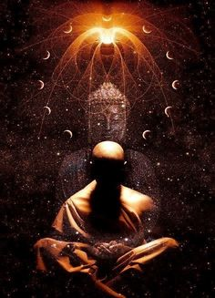 Buddha and Meditation Manifest your Goals and learn how meditation can benefit your personal development. Reiki Angelico, Zen Meditation, Meditation Quotes, Buddhist Art, Buddhist Monk, Visionary Art, Psychedelic Art, Love And Light, Sacred Geometry