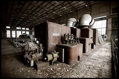 Abandoned Powerplant