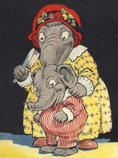 Johnny Gruelle's Eddie The Elephant