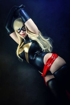 Ms. Marvel Cosplay - Exhausted heroine by K-A-N-A.deviantart.com on @deviantART
