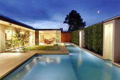 Pool Area by Ian Barker Garden Design