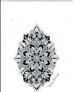 Resultado de imagen para tattoo flower mandala men