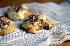 Buttermilk Orange Pecan Cookies.. Really good! So soft and great flavor..