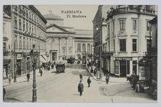 Ulica Miodowa przy Koziej w Warszawie (przed rokiem 1913 )