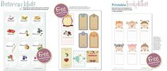 Free preserving labels, bookplates, patterns