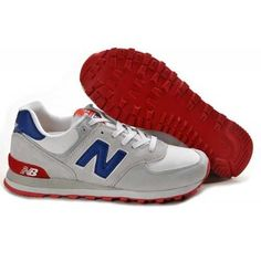 Find Hot New Balance 574 Mens Grey Blue Red Shoes online or in Footlocker. Shop Top Brands and the latest styles Hot New Balance 574 Mens Grey Blue Red Shoes at Footlocker. New Balance 574 Womens, Cheap New Balance, New Balance Shoes, Cheap Football Shoes, Nb Shoes, Cheap Shoes, Discount Jordans, Discount Shoes, Men Accessories
