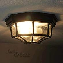 Runde LED Außen Beleuchtungen Balkon Leuchten IP44 Lampen Glas satiniert EEK A++