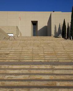 Las escaleras del conocimiento de @umnoticias tendrán llevan a la Biblioteca General del Campus de Espinardo.