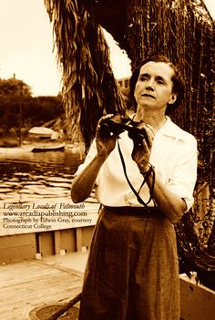 """On this day in history, April 14, 1964: Writer, marine biologist and ecologist Rachel Carson died at her home in Maryland. Carson is best remembered for her book """"Silent Spring"""" and her warnings about the harmful effects of pesticides on the environment. Many credit her with initiating the environmental movement. (Photograph by Edwin Gray, courtesy Connecticut College.)"""