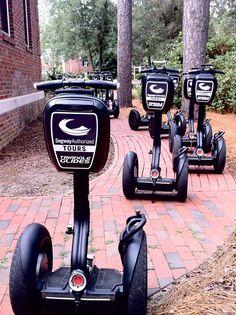 Segway tour in Raleigh, North Carolina. #segway