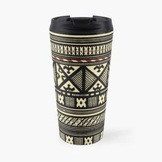 Best Dad Gifts, Cool Gifts, Gifts For Dad, African Mud Cloth, Mug Designs, Sell Your Art, Clothing Patterns, Travel Mug, Stainless Steel
