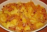 Receta de Patatas panaderas con bacón