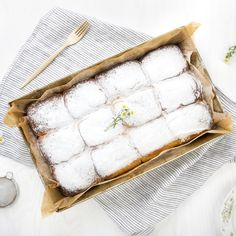 Czech Buchty - Sweet Filled Buns