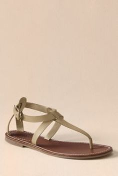 7d93a5bba373 Women s Corliss Thong Sandals from Lands  End Canvas.perfect change of shoes  for those hot sticky days