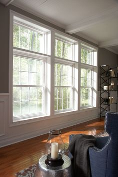 Window World Double-Hung Window - Window World of Northern California is locally-owned and operated, selling replacement vinyl windows, doors, vinyl siding, and more. Learn more at  http://www.windowworldcontracosta.com/