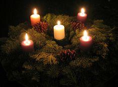 adventskranz ideen einfach winterlich besinnlich