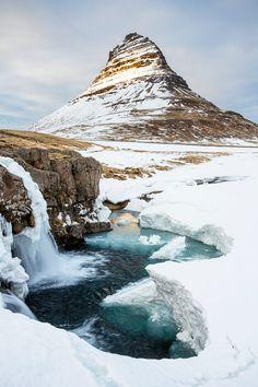 Kirkjufell, Snæfellsnes, Iceland.