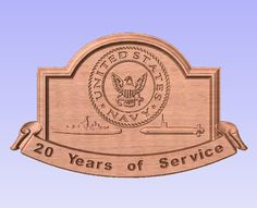 Personalized US Navy Military Wall Plaque  by SplintersCustomWood