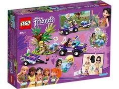 FriendsBricks   2020 Summer Friends sets Lego Ninjago, National Geographic, Building For Kids, Building Toys, Lego Batman, Lego Friends Sets, Friends Girls, Baby Elephant Toy, Baby Elefant